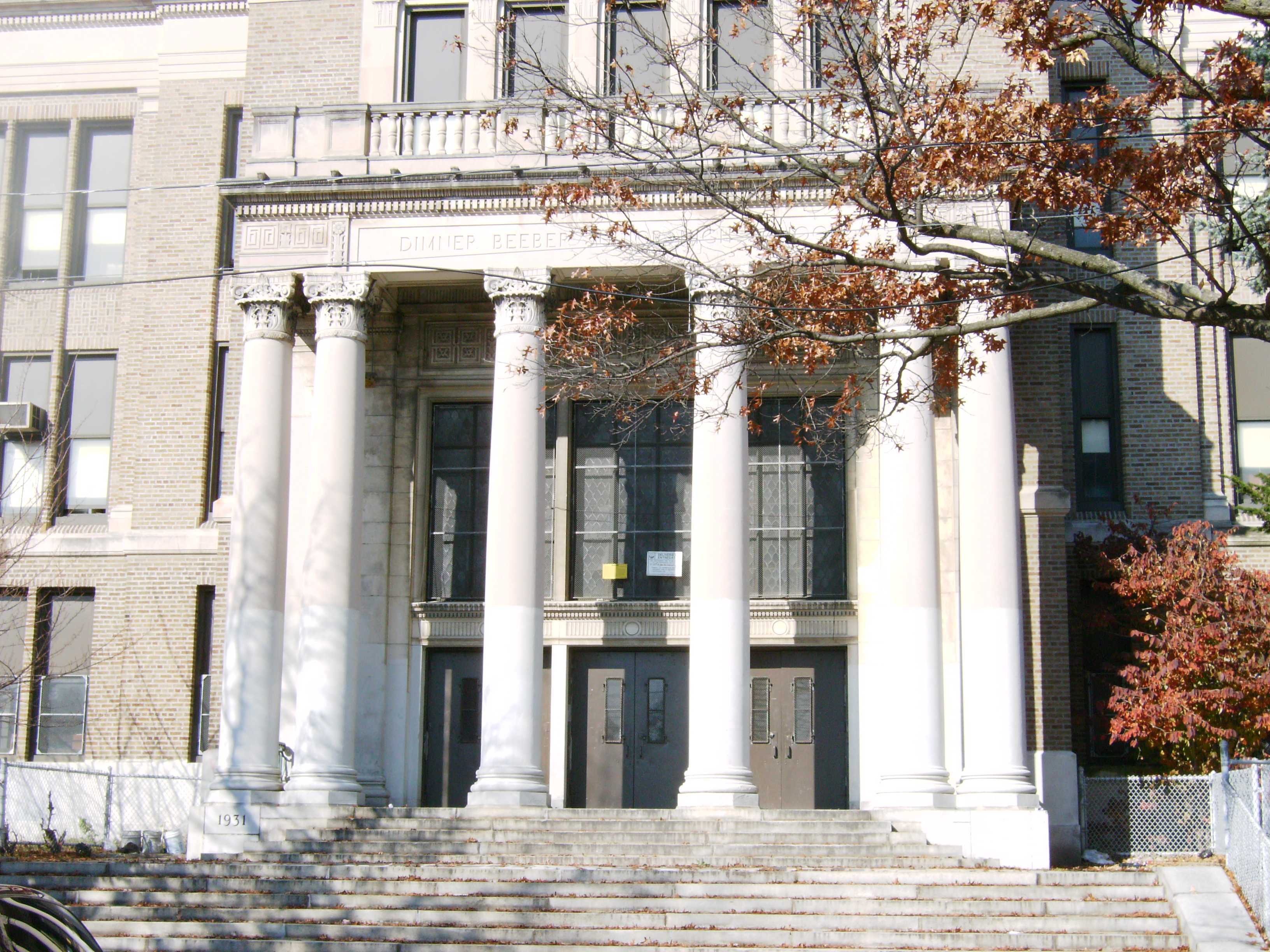 Beeber Middle School, the new campus of SLAPhoto courtesy: phila.sd.org